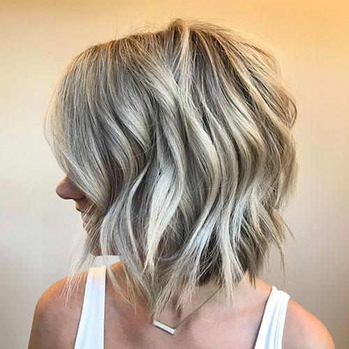 Short Choppy Hair