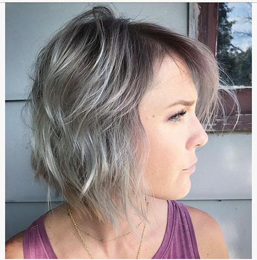 Short And Choppy Hair