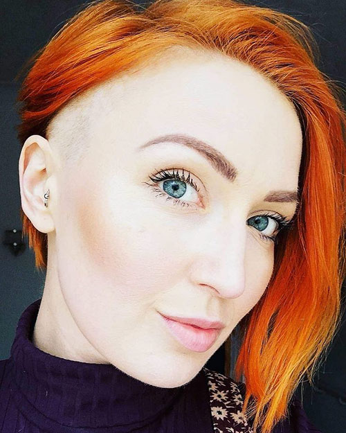 Red Short Hair Cuts