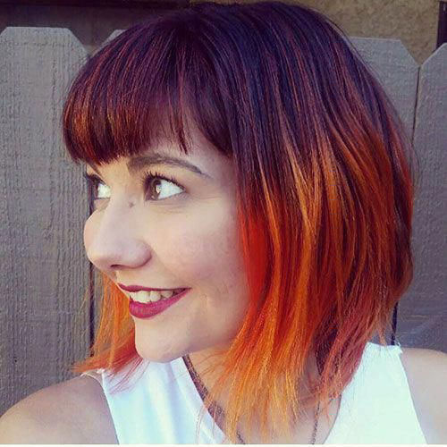 Red Hair Short Hairstyles