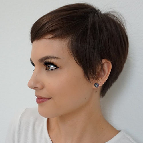 Undercut Short Hair Women