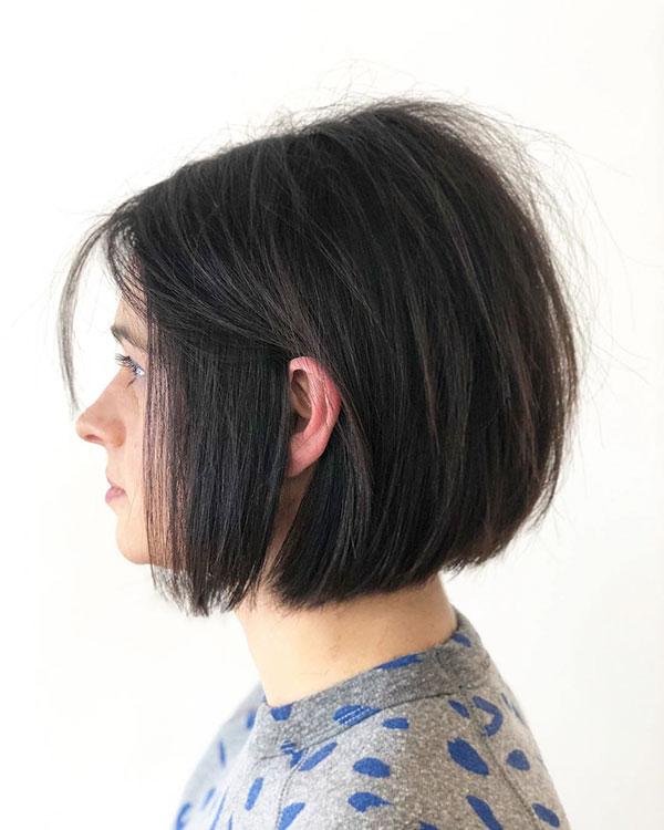 Hairdos For Short Layered Hair