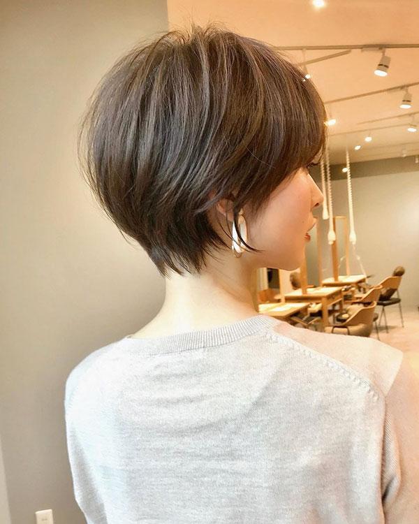 Short Hair Style 2020 For Asian Women