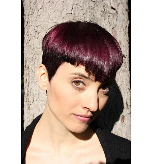 Feminine Hairstyles For Short Hair