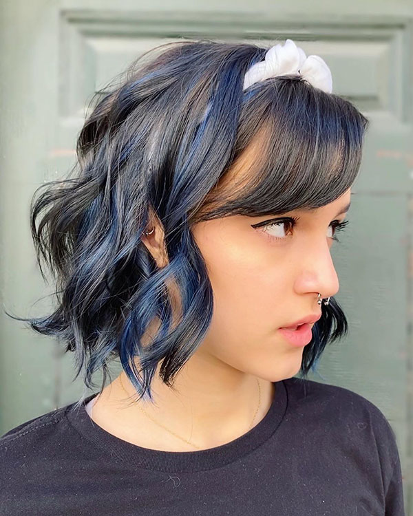Short Hairstyles With Lowlights