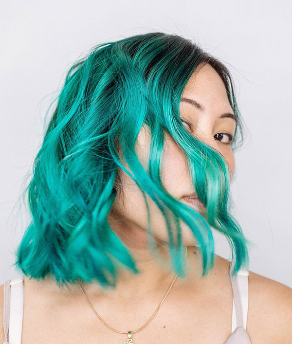 Vibrant And Short Hairstyles