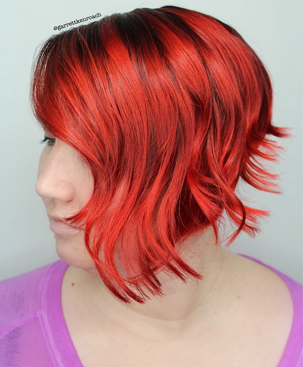 Short Vibrant Hair Pictures