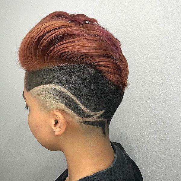 Thick Short Haircuts