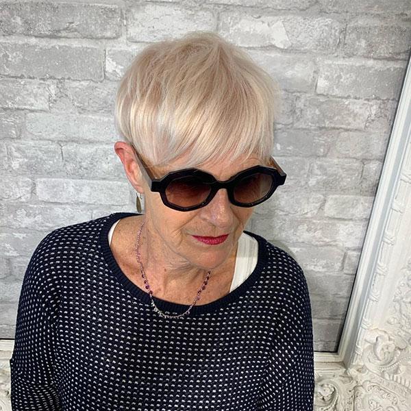 Short Hair Over 60