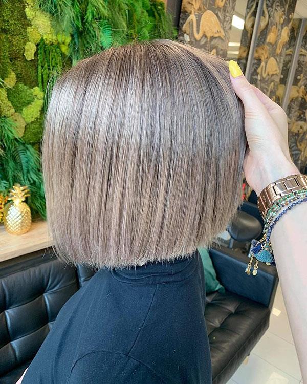 Sleek Haircuts For Short Hair