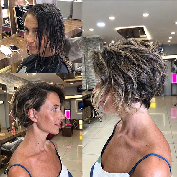 Feminine Hairstyle Short Hair