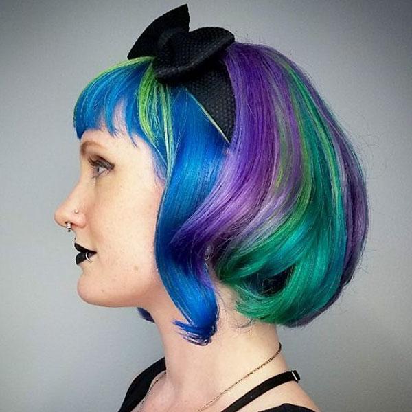 Short Vibrant Hair