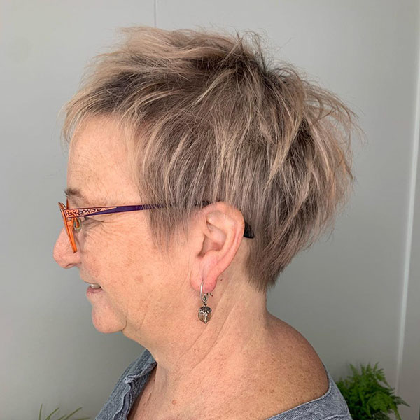 Hairstyles For Short Hair Over 60